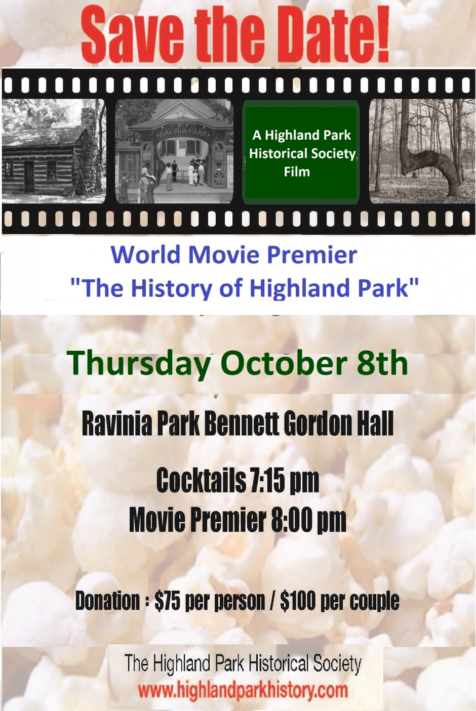 World Movie Premier: Highland Park History