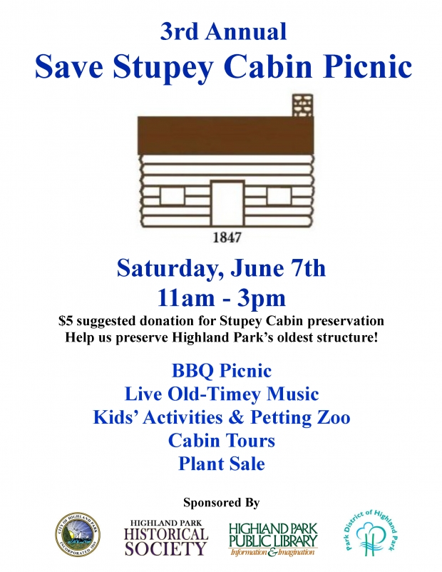 3rd Annual Save Stupey Cabin Picnic