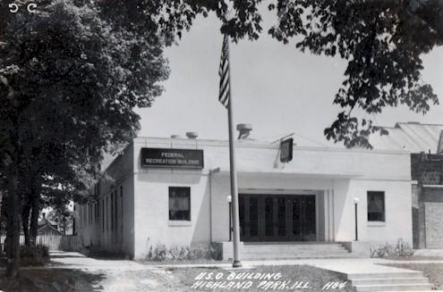 USO Highland Park 1942