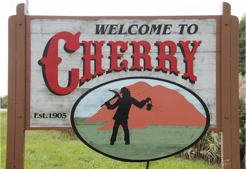 Welcome to Cherry, Illinois